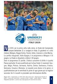 Europei Under 21 - Italy 2019 - CALAMEO Downloader
