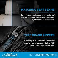 featurescoverking cordura ballistic custom seat covers