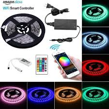 Color Changing Rope Lights Beauteous 3232Ft Flexible LED Strip Light Kit SMD 32 32LEDs RGBW Color