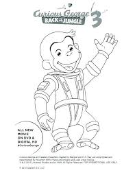 Curious George Color Pages Curious Coloring Pages Color Free