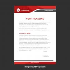 Letter Headed Paper Template Letter Head Vectors Photos And Psd Files Free Download
