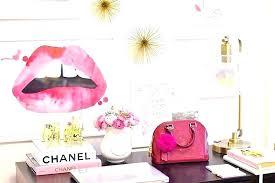 cute office furniture. Fashionable Chic Desk Accessories Cute Office Decor Pink . Furniture