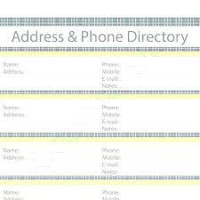 Photo Directory Template Word Doctor Wordpress Phone Ry
