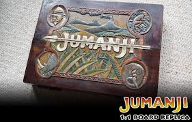Real Wooden Jumanji Board Game Jumanji 1000010000 Game Board Replica Pt 100 Complete SOLD YouTube 28