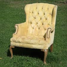 Vintage high back chair Mid Century Griffithmarigold Tufted Highback Chair Forever Vintage Rentals Griffithmarigold Tufted Highback Chair Forever Vintage Rentals