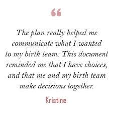 birth plan visual visual birth plan