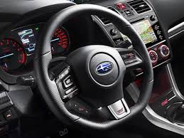 subaru wrx 2016 interior.  Subaru Leatherwrapped Smalldiameter Flatbottom Steering Wheel  2016 WRX  Intended Subaru Wrx Interior
