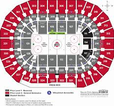 Ohio St Football Stadium Seating Chart Seating Charts Ohio State Buckeyes