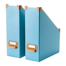 Blue Magazine Holder These magazine files also come in different colors Debra's 2
