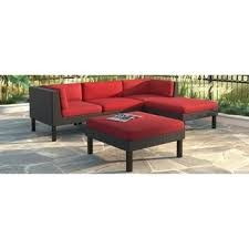 patio sofa chaise lounge furniture couch yard