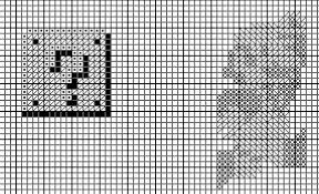Cross Stitch Pattern In Photoshop With Symbols 4 Steps With