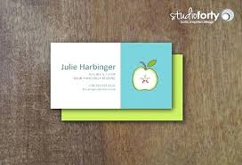 Teacher Business Cards Templates Free Substitute Teacher Business Card Template Clairhelen Co