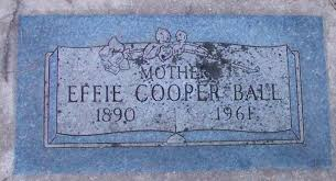 Effie Parsons Ball (1890-1961) - Find A Grave Memorial