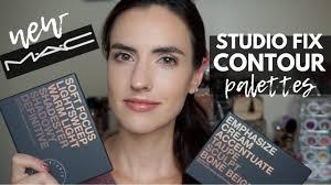 mac studio fix sculpt shape contour palette demo swatches of both palettes makeup