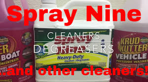 Spray Nine For Interiors Shop Home A Degreaser Cleaner Disinfectant Sanitizer All In One