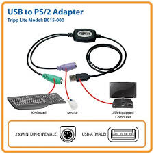 amazon com tripp lite usb to ps 2 adapter keyboard and mouse amazon com tripp lite usb to ps 2 adapter keyboard and mouse b015 000 electronics