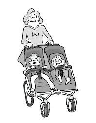 The perfect double stroller and gaining perspective