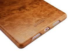 ipad pro 9 7 inch oil wax vintage genuine leather folio case coffee