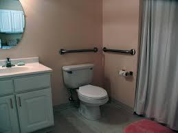 bathroom bathroom in assisted living apartment complex bathroom grab bars
