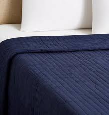 Quilts, Coverlets & Matching Shams – Dorm-Decor & Ellie Quilt - Navy Adamdwight.com