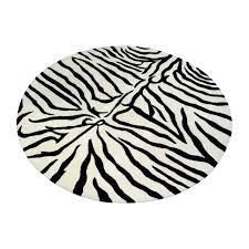 zebra skin rug brown white antelope target real animal repair zebra skin rug