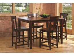Anniversary II Piece Solid Wood Dining Set Includes Counter - Solid wood dining room tables