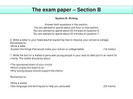 What will a typical paper 2 question 5 always start with. Paper 2 Question 5 Gcse English Language Paper 2 Model Answers First Rate Tutors Bengali Suggestion And Question Patterns Of Ssc Examination