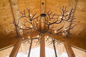 full size of living fancy log cabin chandeliers 1 85738989 antler chandelier hanging from eastern white