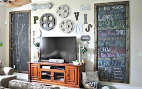 the decorations of this gallery are the blackboards this is another example of emphasizing the height of space the boards can be used by children