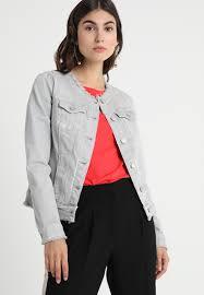 Light Gray Blazer Womens Comma Casual Identity Outdoor Denim Jacket Light Grey