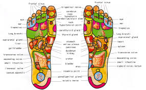 Foot Pressure Points Chart Know Your Pressure Points With This Foot Reflexology Map
