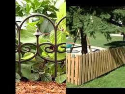 Small Garden Fence Ideas Youtube regarding Small Garden Fence