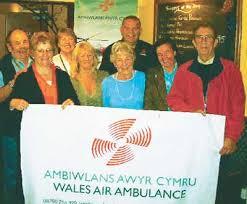Air ambulance thanks Angel Inn   News   Tenby Observer