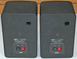 speakers rca. remember, rca bought into radio shack so all stereo and other audio equipment was either rebadged as or made by for rca. speakers rca e