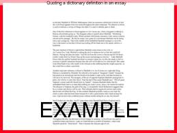 quoting a dictionary definition in an essay coursework writing service quoting a dictionary definition in an essay using word definitions in formal essays incorporation