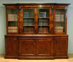 library bookcase with glass doors mahogany photos antique bookcases