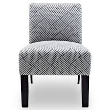 i love the pattern of this accent chair because i like geometric patterns