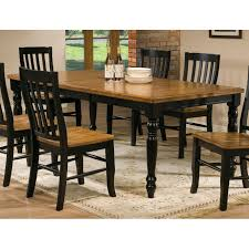Rubberwood Kitchen Table Three Posts Courtdale Dining Table Reviews Wayfair