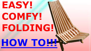 sophisticated wooden folding chair plans of