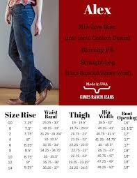 Rock Revival Jeans Size Chart Women S Size Chart Kimes Ranch
