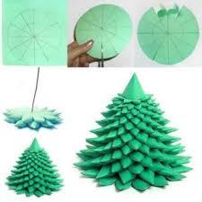Wonderful DIY 3D Paper Christmas Tree