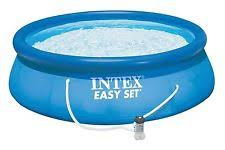 how to vacuum an intex above ground pool intex 13 x 33 easy set swimming pool 530 gfci gph filter pump