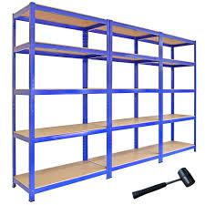 metal shelving units two