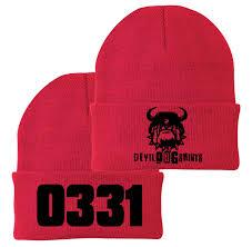 Usmc 0331 0331 Machine Gunner Mos Marine Corps Watch Cap