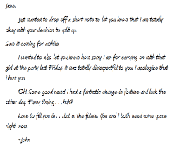 How To Write An Apology Letter To Your Ex