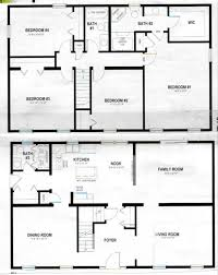 two story home plan e1022 2 story polebarn house plans two story home plans