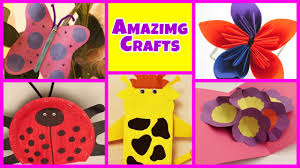 Kids Craft Amazing Arts And Crafts Collection Easy Diy Tutorials Kids