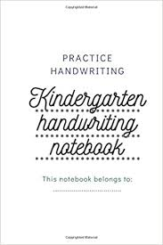Choose a drawing to print it and draws on dotted lines to reveal magnificent drawings in which you can colour. Kindergarten Handwriting Paper With Lines For Kids 120 Blank Abc Handwriting Practice Paper With Dotted Lines Paper Handwriting 9798631420953 Amazon Com Books