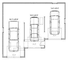 garage dimensions 2 car three car garage size 3 car garage dimensions 2 car garage size