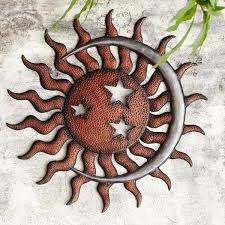 sun moon and stars wall plaque 34042